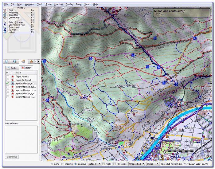 Garmin Nuvi Trail Maps