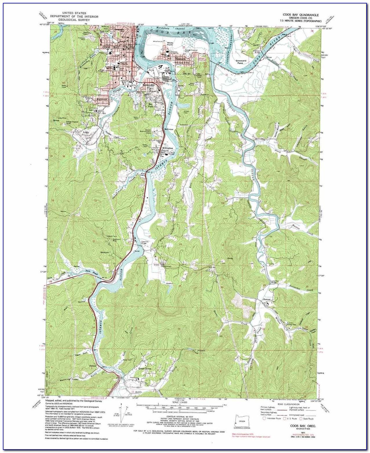 Garmin Oregon Topo Maps