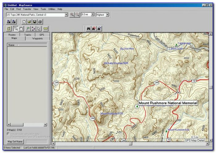 Garmin Topo Maps Uk