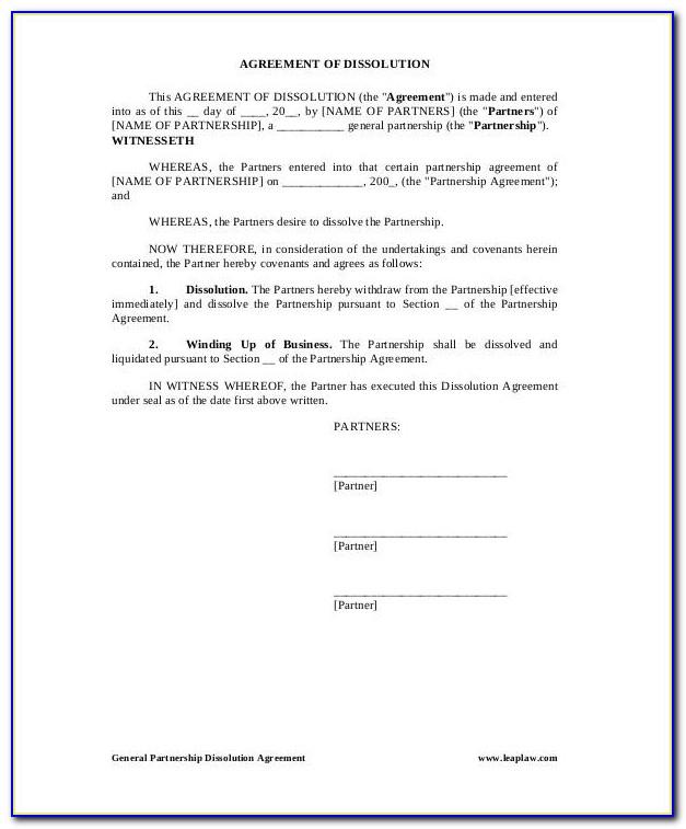 General Partnership Agreement Samples