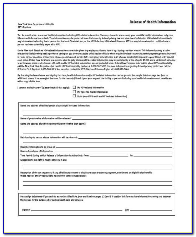 Generic Gym Waiver Form