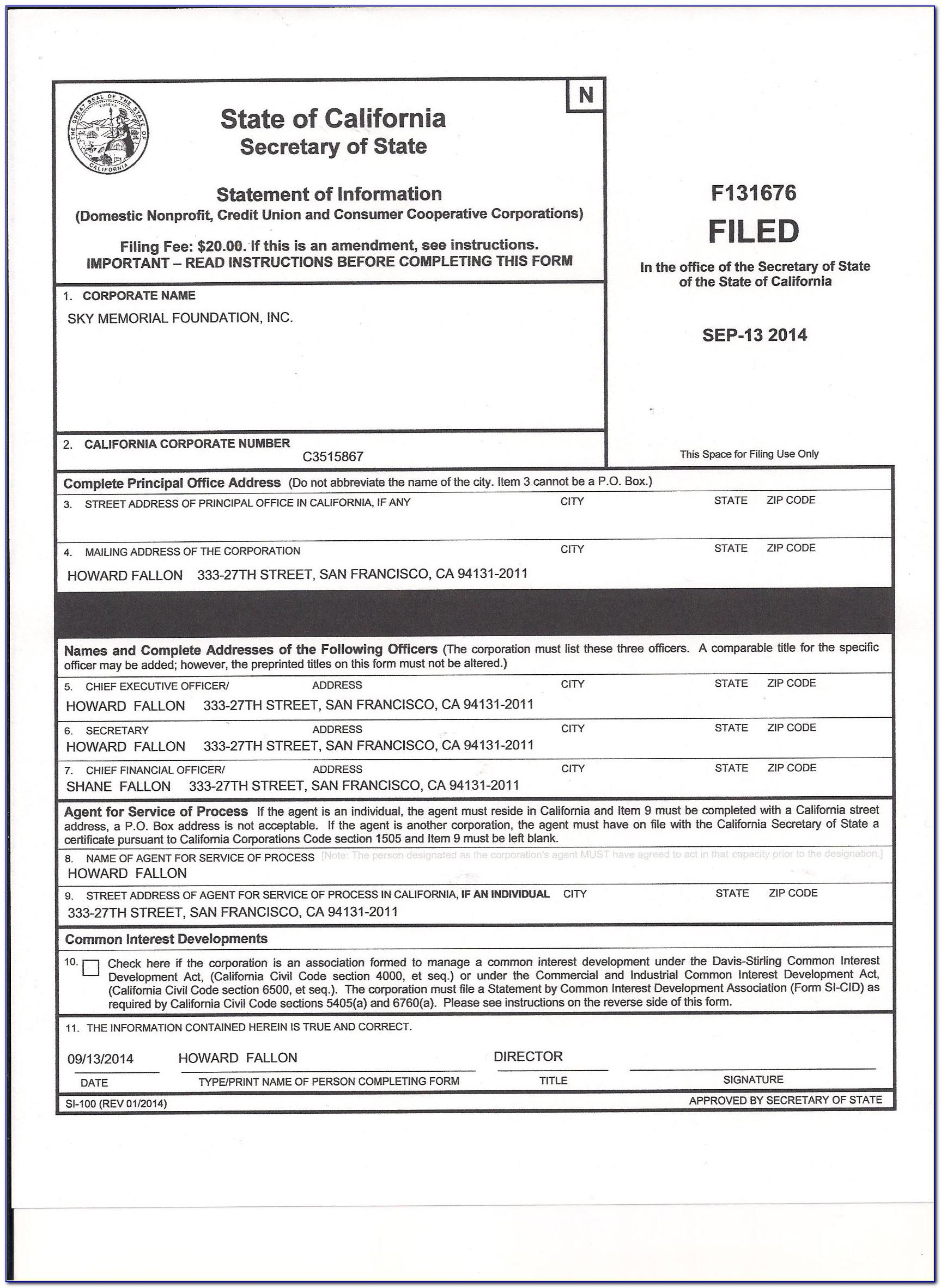 Georgia Secretary Of State Llc Forms