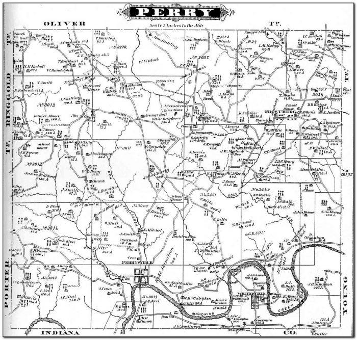 Gis Map Jefferson County Pa