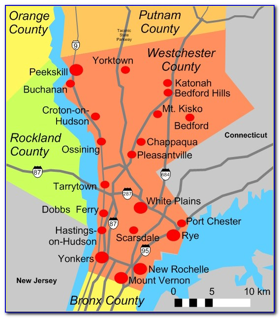 Gis Map Westchester County