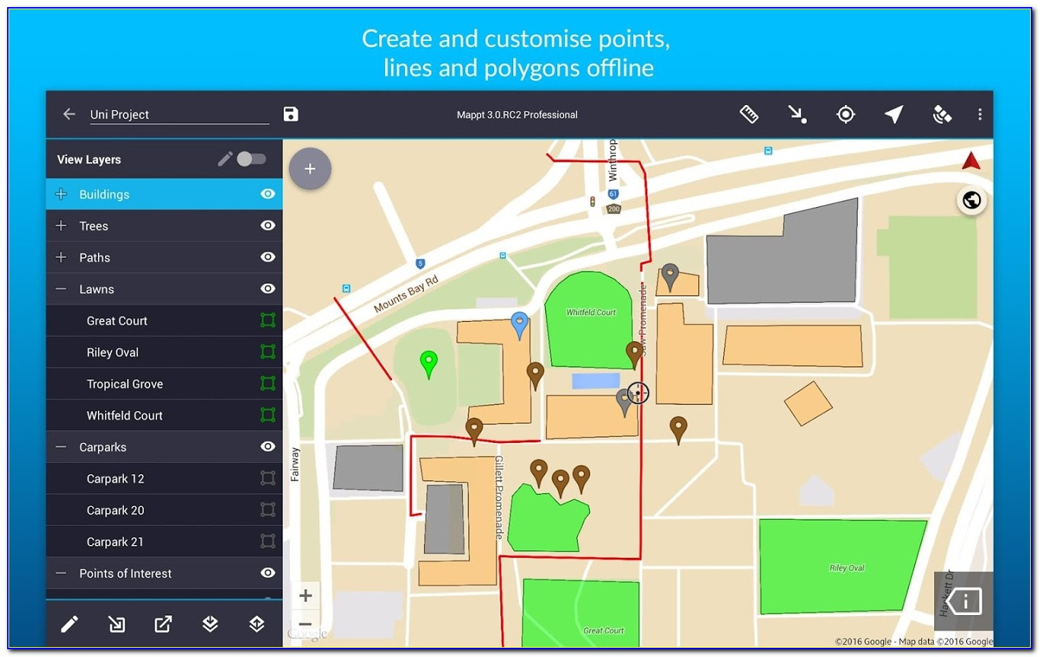 Gis Mapping Ipad