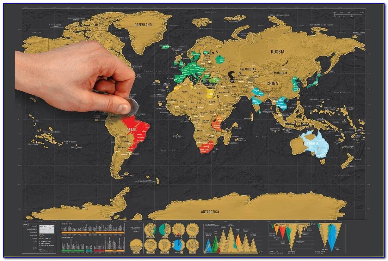 Globetrotter World Map Amazon
