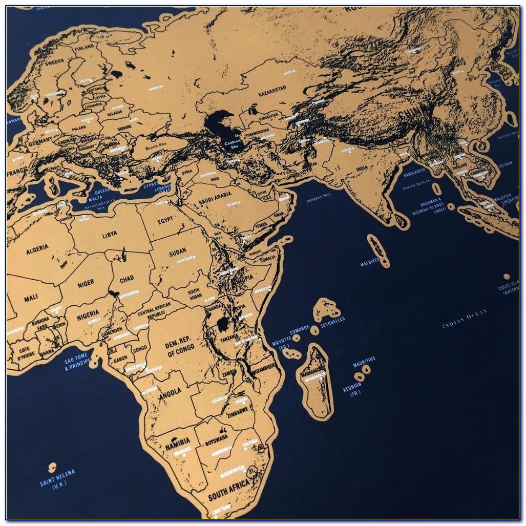 Globetrotter World Map Wanderland