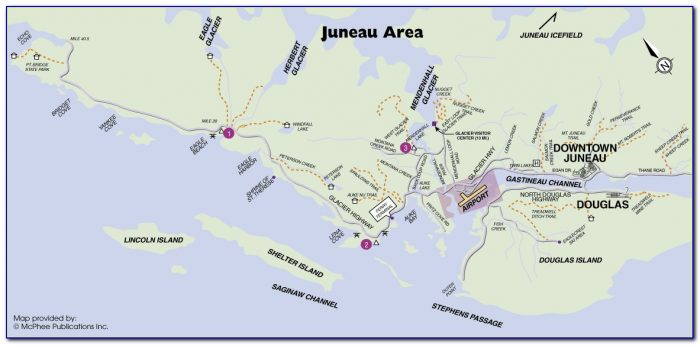 Google Map Juneau Alaska
