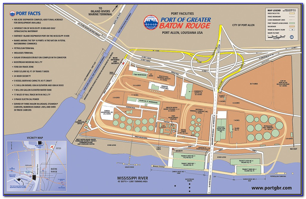Google Map Of Baton Rouge La