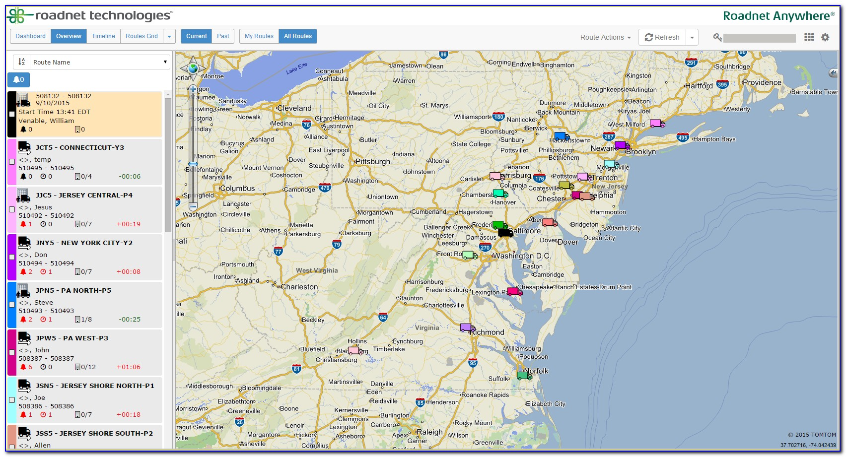 Google Map Routing Software