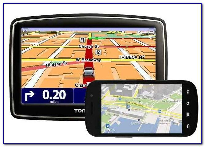 Google Maps In Car Navigation Gps