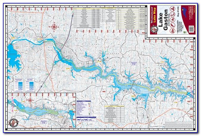 Google Maps Lake Gaston Nc