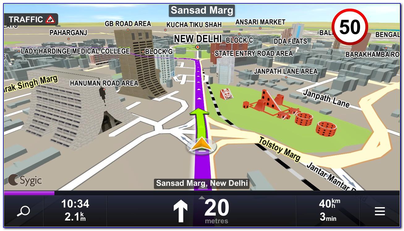 Gps Navigation & Maps Sygic Full
