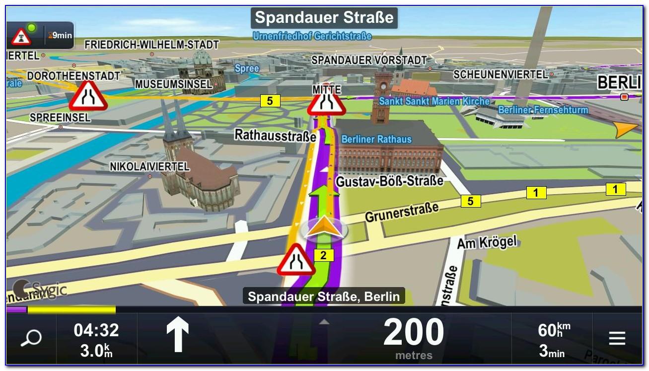 Gps Navigation & Maps Sygic Mod Apk