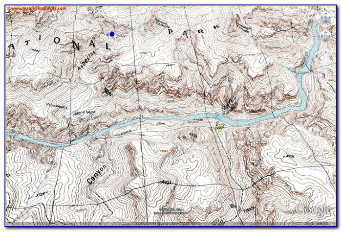 Grand Canyon Topographic Map Free