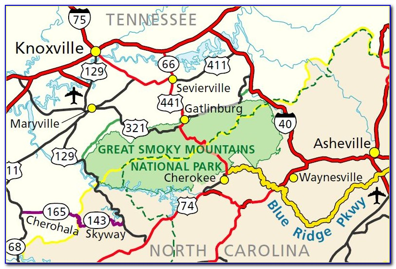 Great Smoky Mountains National Park Trail Map Pdf