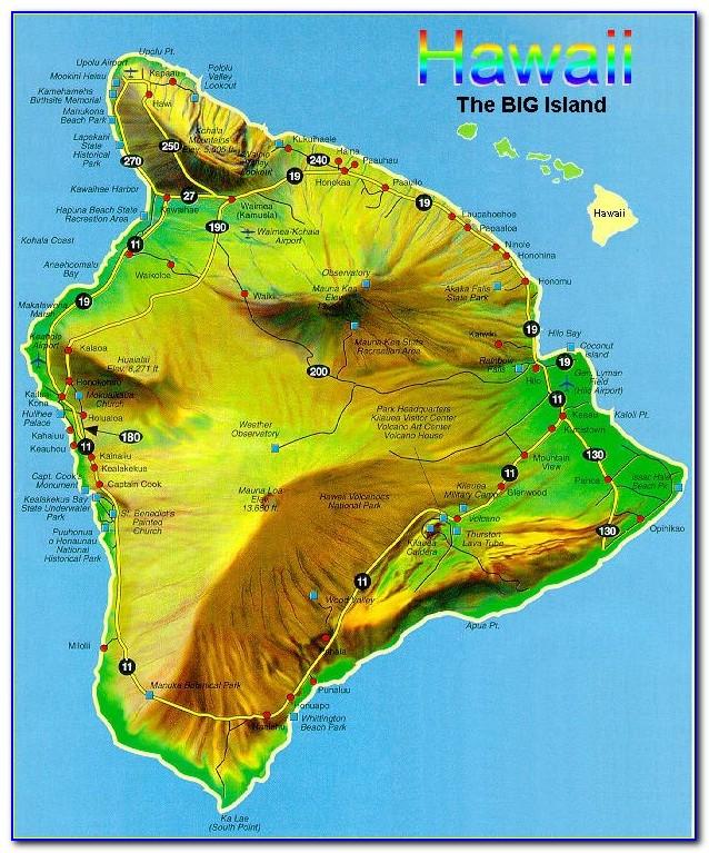 Hawaii County Topo Maps