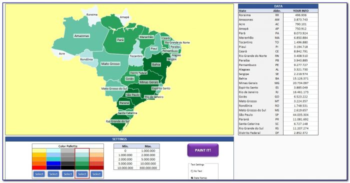 Free Geographic Heat Map Generator - Maps : Resume Examples ...
