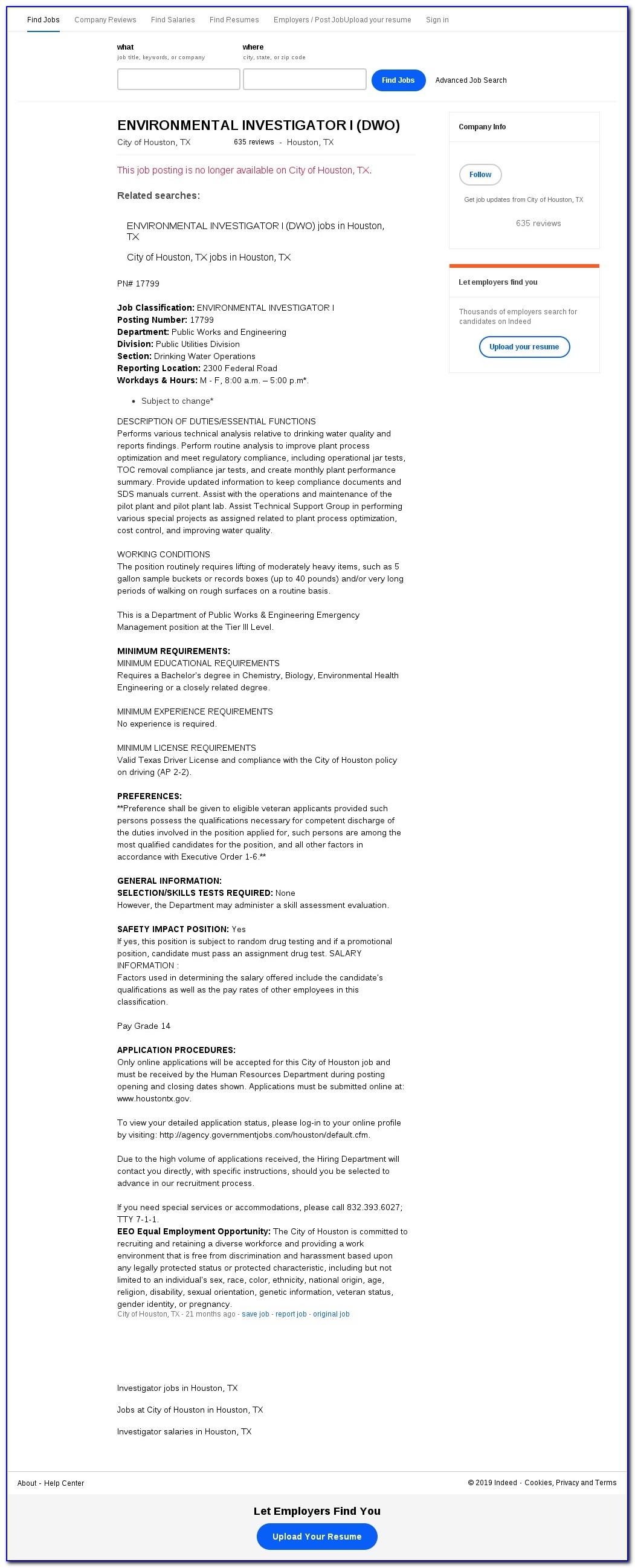 Heb Job Application Houston Tx