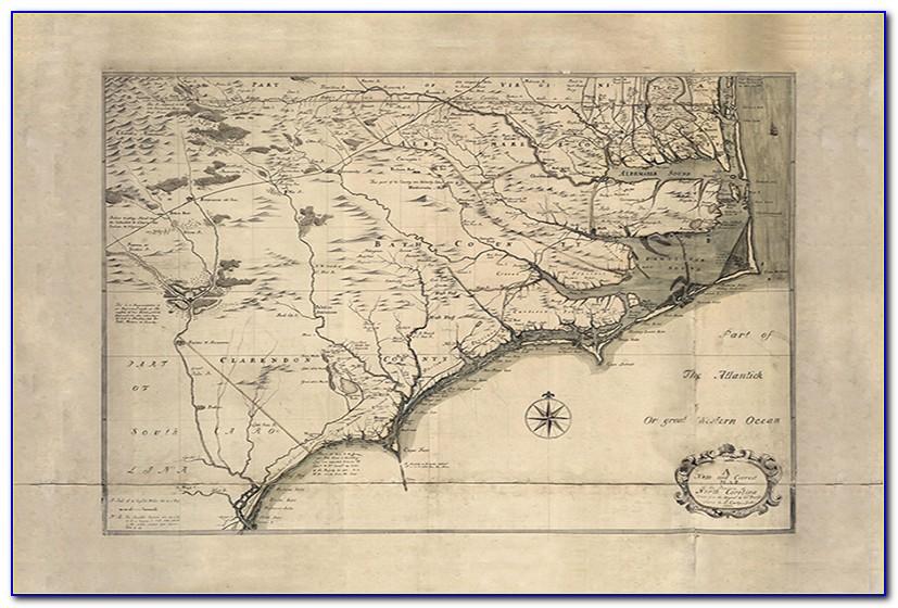 Historical Maps North Carolina