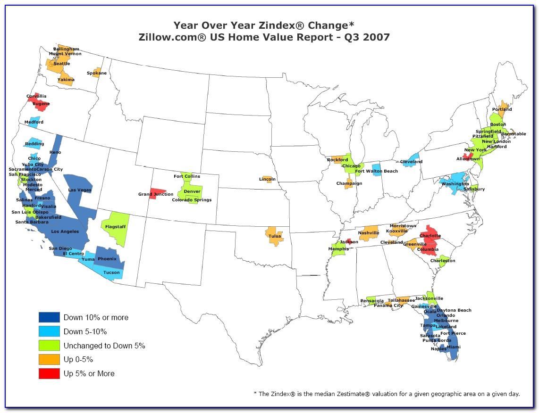 Home Value Estimate Map