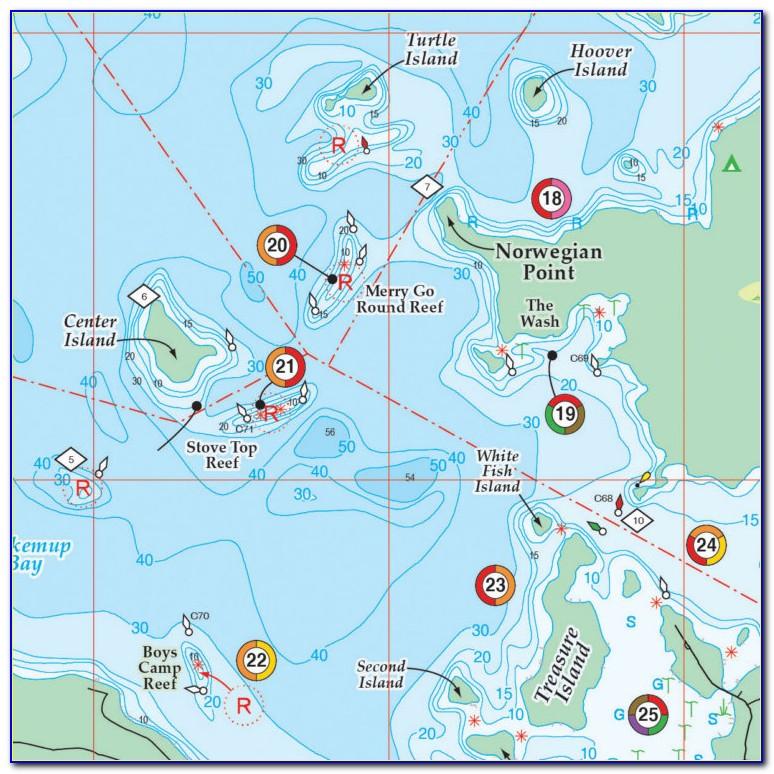 Hot Spot Fishing Maps Florida
