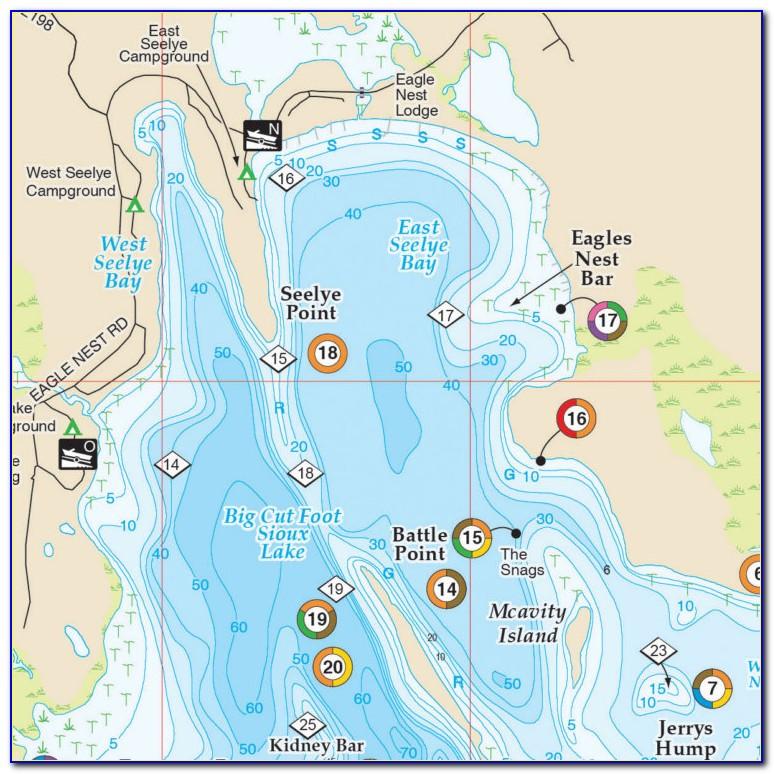 Hot Spot Fishing Maps North Carolina
