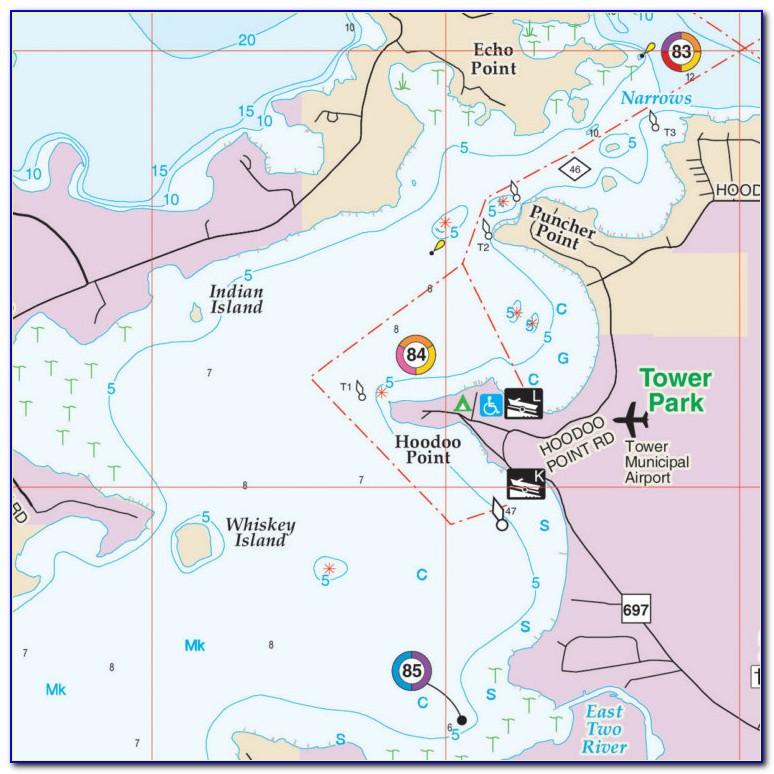 Hot Spot Fishing Maps Texas