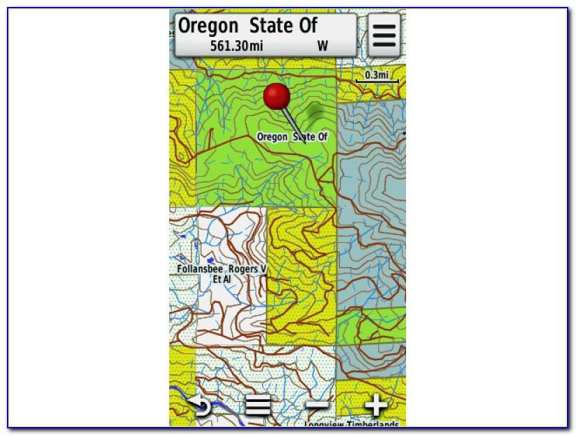 Hunt Oregon Gps Map