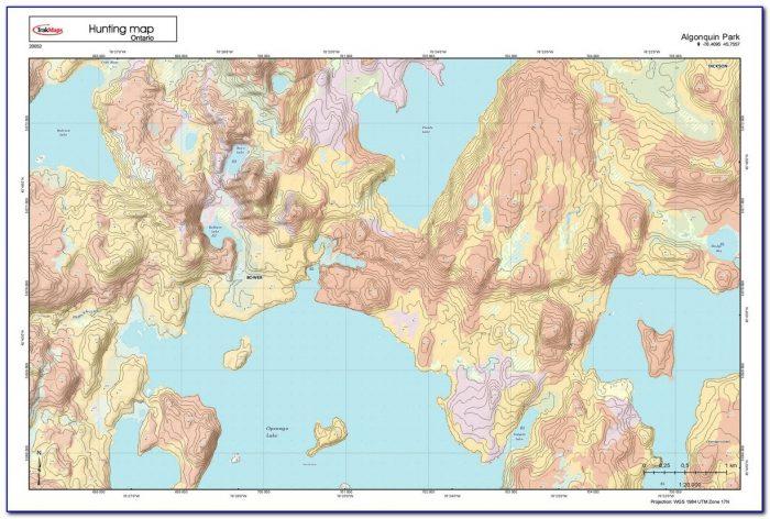 Hunting Topo Maps