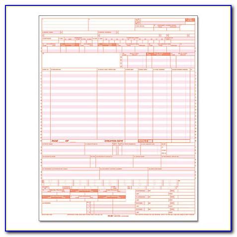 Image Of Ub 04 Claim Form