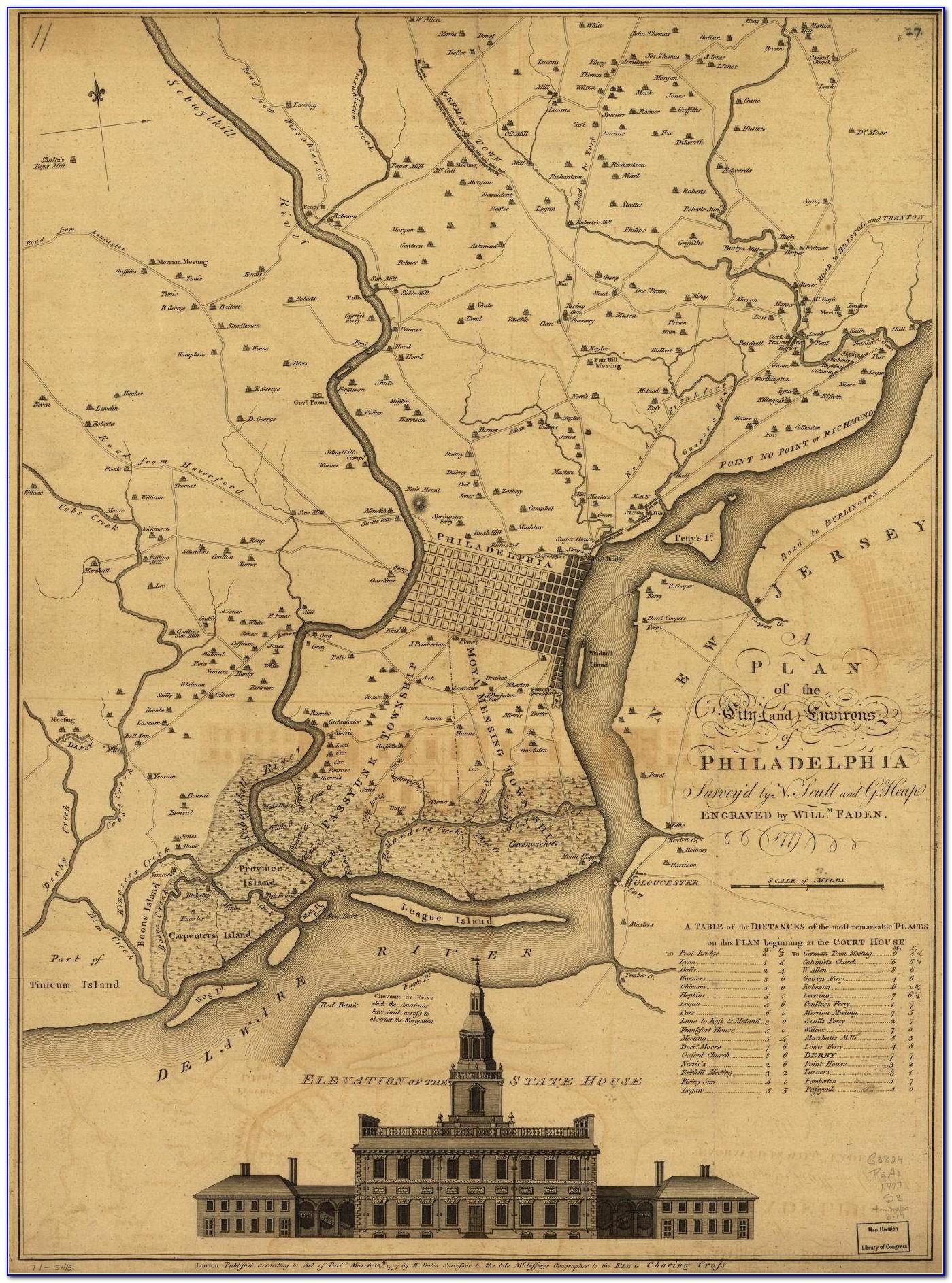 Interactive Map Of Historic Philadelphia