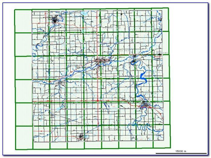 Ionia Mi Street Map