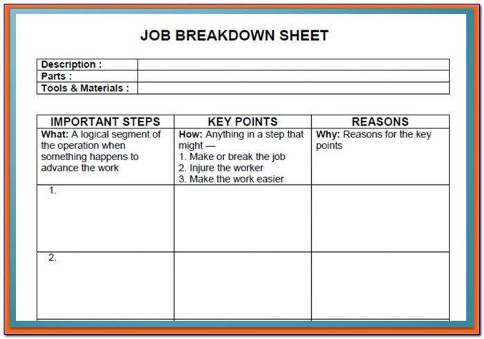 Jb Dawson's Job Application