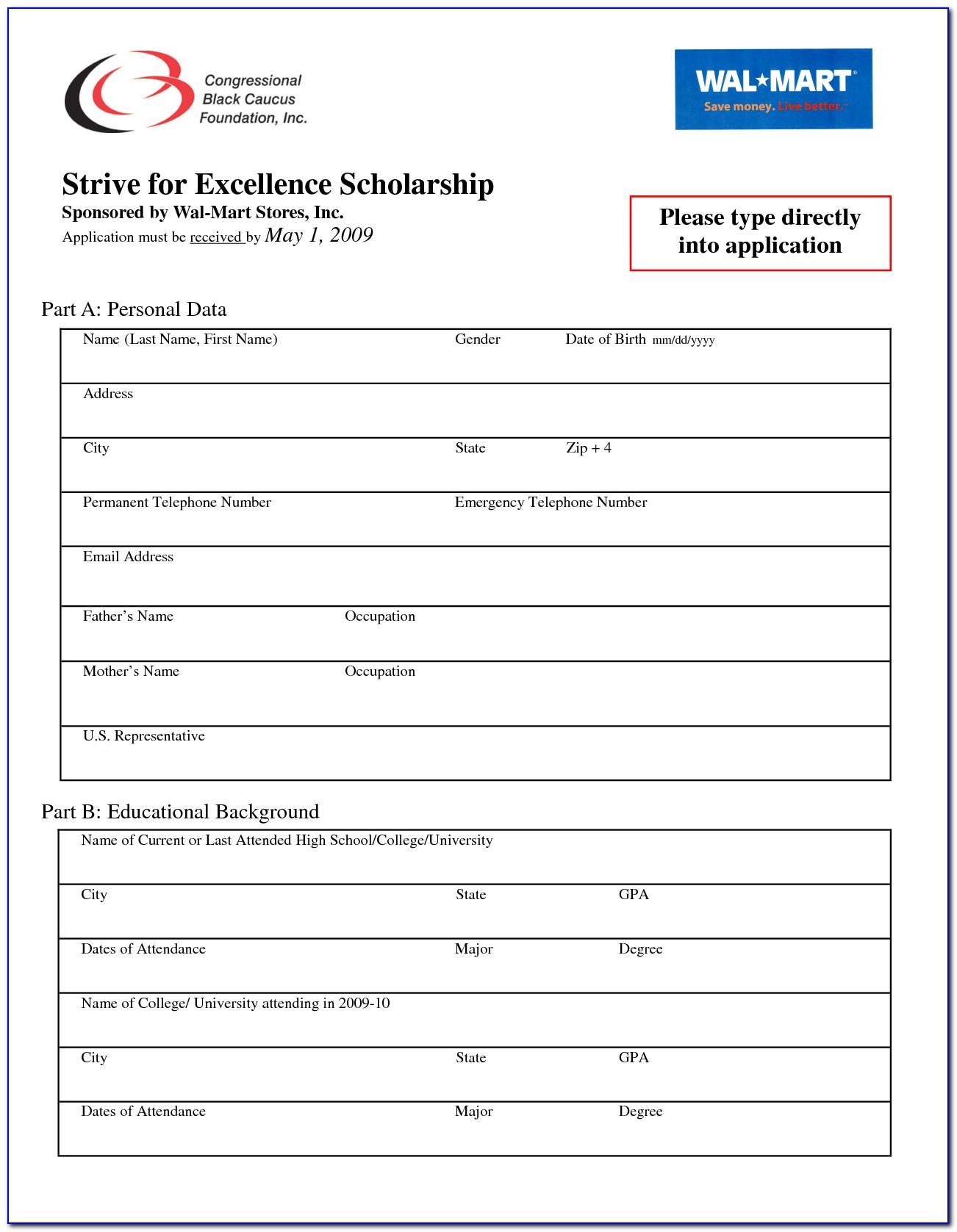Job Application For Walmart Distribution Center