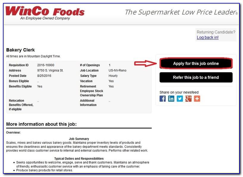 Job Applications Bakersfield Ca