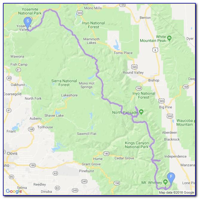 John Muir Trail Map Scotland