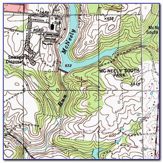 Kentucky Lake Fishing Map Download