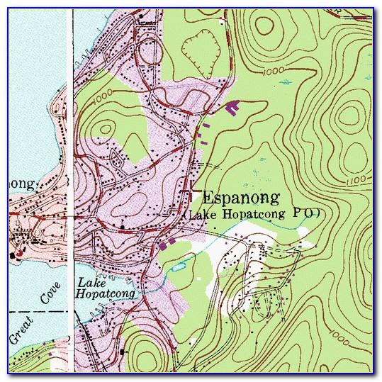 Lake Hopatcong Street Map