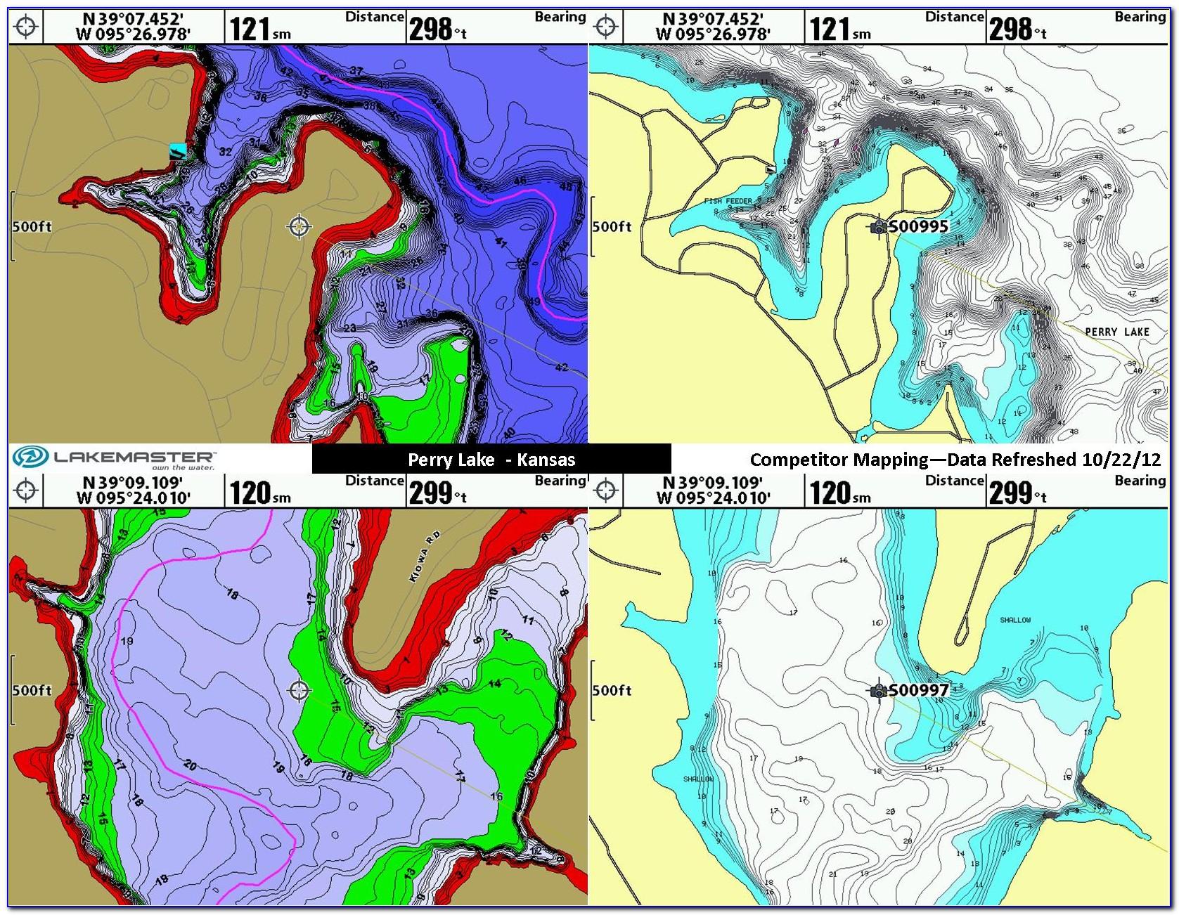 Lake Master Maps Lowrance