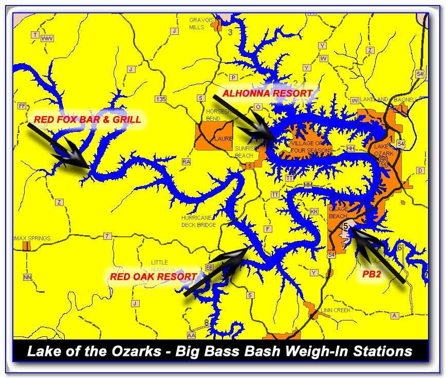 Lake Of The Ozarks Fishing Report June 2018