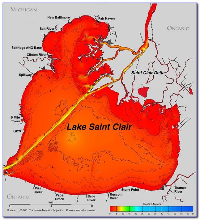 Lake St Clair Nsw Fishing Map