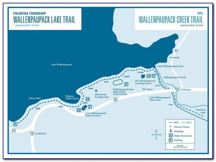 Lake Wallenpaupack Communities Map