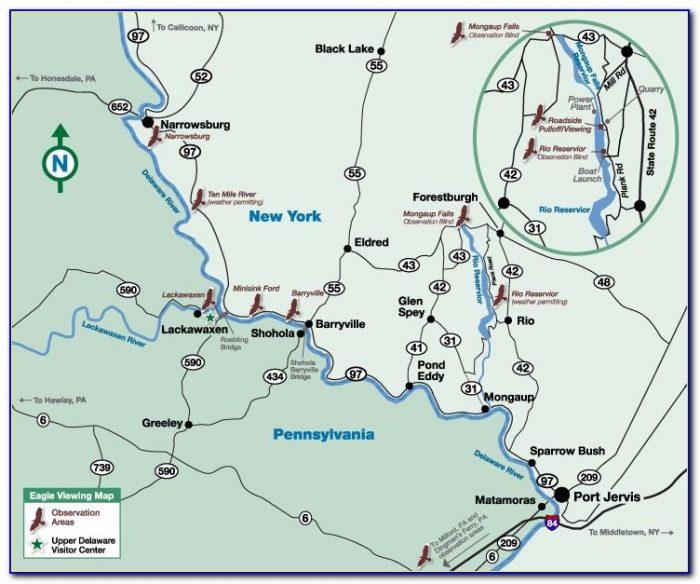 Lake Wallenpaupack Estates Map