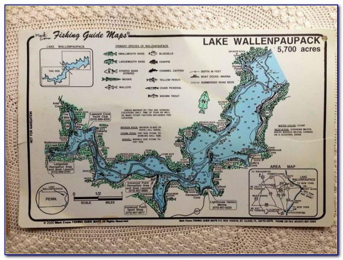 Lake Wallenpaupack Marinas Map