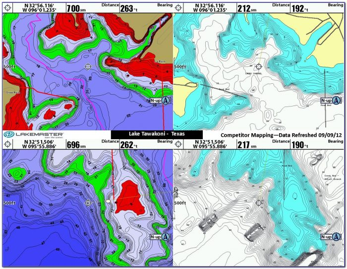 Lakemaster Maps Vs Navionics