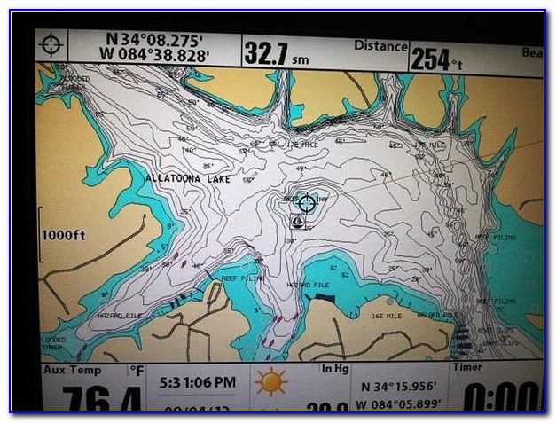 Lakemaster Paper Maps