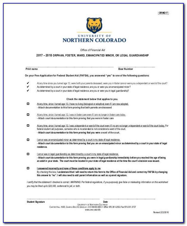 Legal Guardianship Forms Free Download