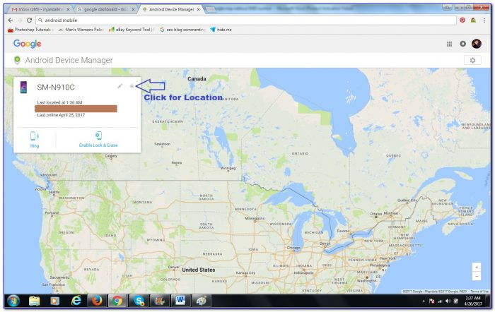 Locate Mobile Number On Google Maps