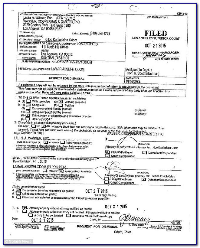 Los Angeles Divorce Filing Fees